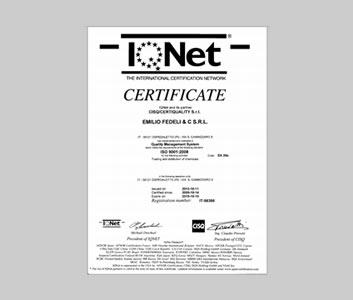 certifcazione iqnet